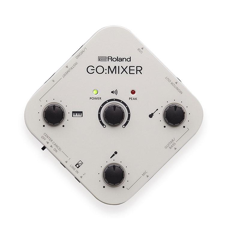 Thiết Bị Phòng Thu Roland Go-Mixer