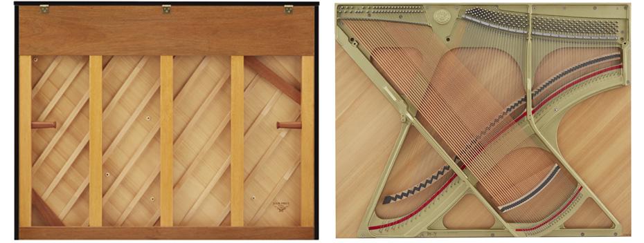 gỗ làm đàn piano cơ
