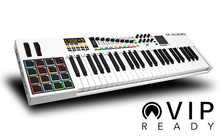 MIDI Controller M-AUDIO Code 49