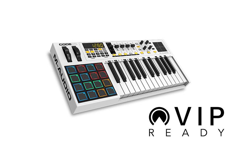 MIDI Controller M-AUDIO Code 25