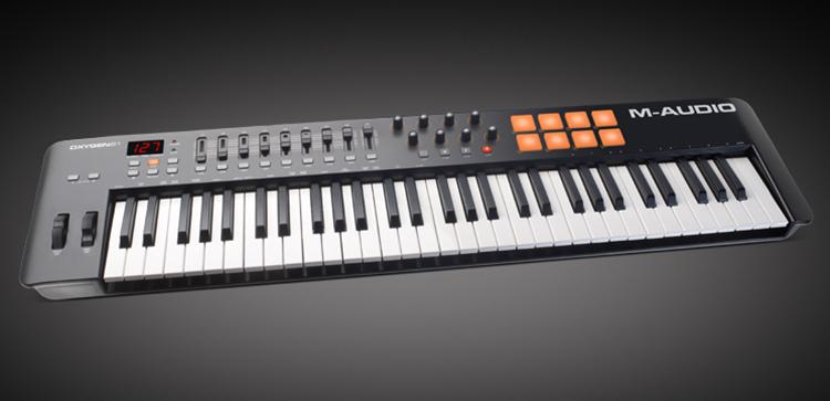 MIDI Controller M-AUDIO Oxygen 61 IV