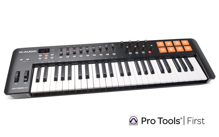 MIDI Controller M-AUDIO Oxygen 49 IV