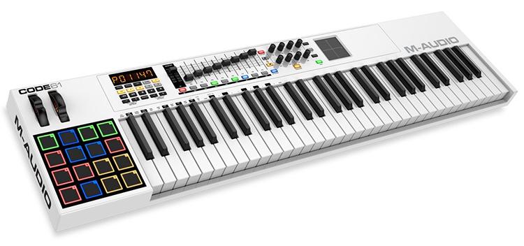 MIDI Controller M-AUDIO Code 61