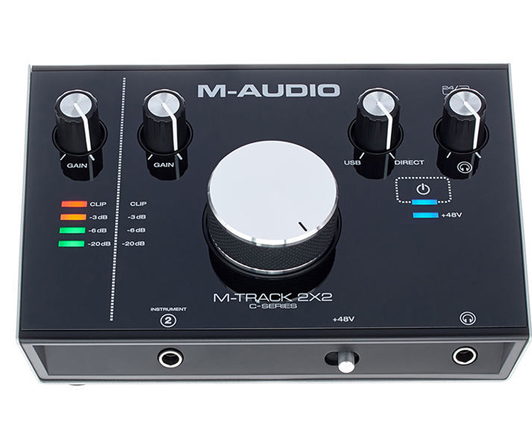 Sound Card M-AUDIO M-Track 2x2