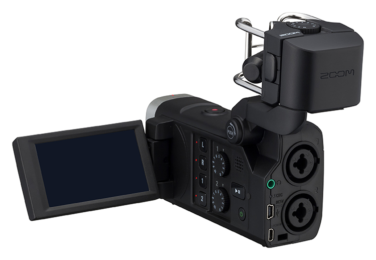 Micro thu âm dành cho máy quay phim Zoom Q8