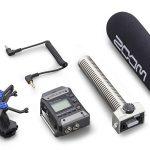 Micro dành cho máy quay Zoom F1-SP Shotgun Mic Pack