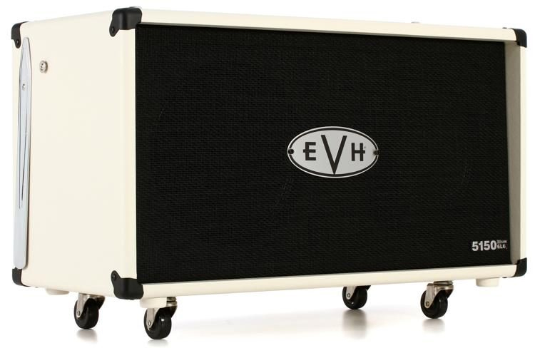 EVH 5150III 2X12 STRAIGHT CABINET, INVORY