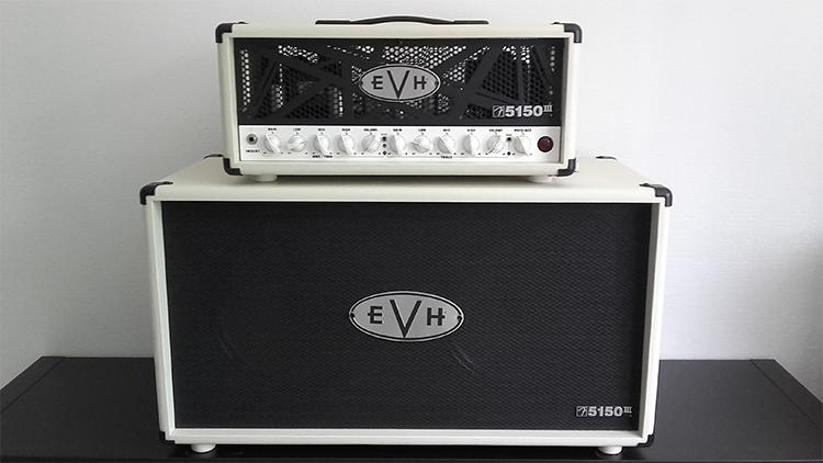 EVH 5150III 2X12 STRAIGHT CABINET, INVORY